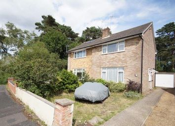 Thumbnail 3 bedroom semi-detached house for sale in Lake Drive, Bordon