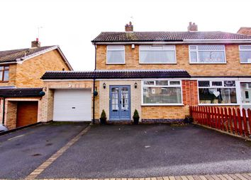 Thumbnail 3 bed semi-detached house for sale in Link Road, Anstey, Leicester