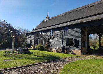 Thumbnail 4 bed link-detached house for sale in Old Hall Green, Ware, Hertfordshire
