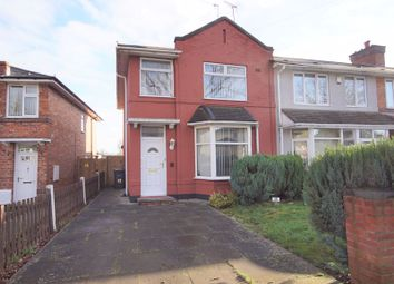 3 bed end terrace house to rent in Capcroft Road, Billeseley, Birmingham B13
