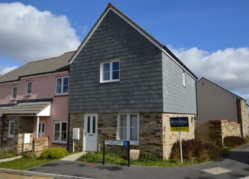 Thumbnail 3 bed end terrace house for sale in Copperfield Drive, Liskeard, Cornwall
