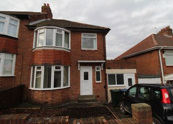 Thumbnail 3 bed semi-detached house for sale in Lanercost Drive, Newcastle Upon Tyne