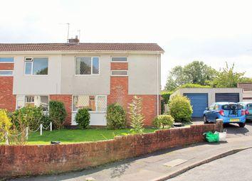 Thumbnail 3 bed semi-detached house for sale in Heathfield, Gorseinon, Swansea