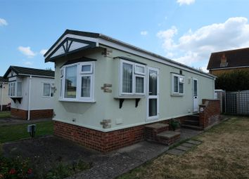 Thumbnail 2 bedroom mobile/park home for sale in Rowan Tree Park, Church Lane, Seasalter