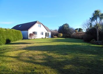 Thumbnail 6 bed detached bungalow for sale in Red Lane, Rosudgeon, Penzance