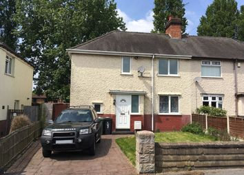 Thumbnail 3 bed semi-detached house for sale in Woodsbank Terrace, Wednesbury