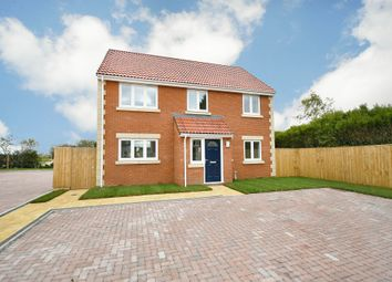 Thumbnail 4 bed detached house for sale in Chippenham Road, Lyneham, Chippenham
