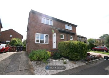 Thumbnail 2 bed semi-detached house to rent in Burns Close, Hitchin