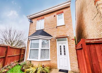 Thumbnail 4 bed detached house for sale in Belsize Avenue, Peterborough