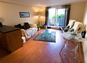 Thumbnail 2 bed flat for sale in Hawkhill Close, Edinburgh