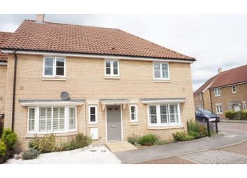 Thumbnail 3 bed semi-detached house for sale in Yew Tree Close, Mildenhall