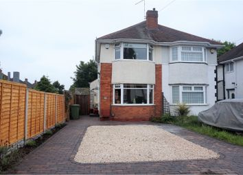 Thumbnail 2 bed semi-detached house for sale in Pierce Avenue, Solihull