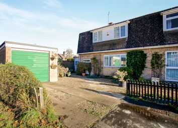 Thumbnail 3 bed semi-detached house for sale in Mostyn Close, Sutton, Ely