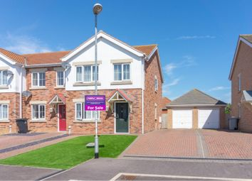 Thumbnail 3 bed semi-detached house for sale in Cottesmore Close, Skegness