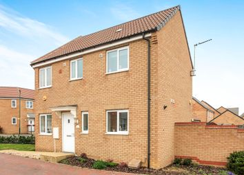 Thumbnail 3 bedroom semi-detached house for sale in Flora Close, Cardea, Peterborough