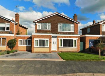 Thumbnail 4 bed detached house for sale in Manor Close, Weston, Stafford