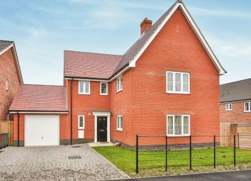 Thumbnail 4 bed detached house for sale in Lansdowne Drive, Poringland, Norwich