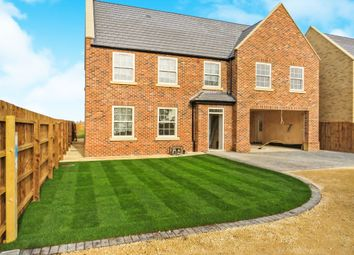 Thumbnail 5 bedroom detached house for sale in Benwick Road, Doddington, March