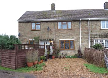 Thumbnail 3 bed end terrace house for sale in Hillside, Marham, King's Lynn