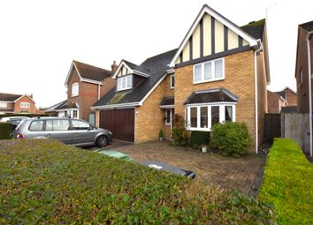 Thumbnail 4 bed detached house for sale in Highclere Road, Great Notley, Braintree