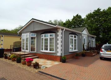 Thumbnail 2 bedroom mobile/park home for sale in Carter Street, Fordham, Ely