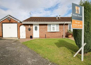 Thumbnail 2 bed bungalow to rent in Hyde Close, Beechwood, Runcorn
