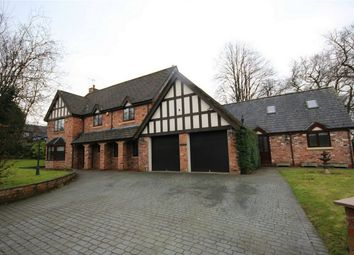Thumbnail 6 bed detached house for sale in Newton Road, Winwick, Warrington