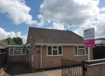 Thumbnail 2 bed bungalow to rent in Shelley Street, Loughborough