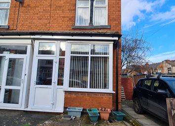 Thumbnail 2 bed end terrace house to rent in Boscombe Road, Birmingham