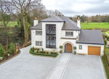 Thumbnail 4 bed detached house for sale in Manor Road, Bramhall, Stockport