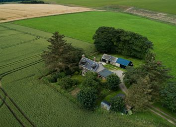 Thumbnail 3 bed farmhouse for sale in Dunlugas, Turriff