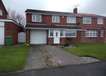 Thumbnail 4 bed semi-detached house for sale in Solingen Estate, Blyth