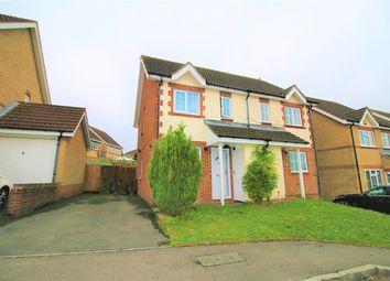 Thumbnail 2 bed semi-detached house for sale in Highdowns, Hatch Warren, Basingstoke