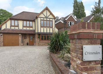 Thumbnail 4 bed detached house for sale in Westerham Road, Keston