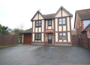 Thumbnail 4 bed detached house for sale in Lenthall Close, Dussindale, Norwich