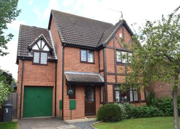 Thumbnail 4 bedroom detached house for sale in Brookside, Peterborough