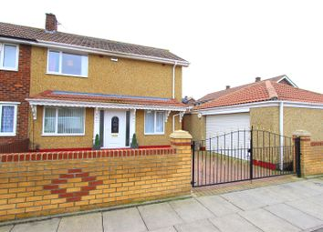 Thumbnail 3 bed semi-detached house for sale in Burnside Road, Darlington