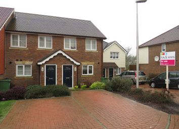 Thumbnail 3 bedroom terraced house for sale in Endeavour Way, Hastings