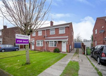 Thumbnail 3 bed semi-detached house for sale in Long Meadow, Mansfield Woodhouse, Mansfield