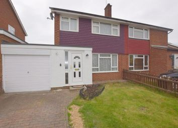 Thumbnail 3 bed semi-detached house for sale in Severn Way, Bletchley, Milton Keynes