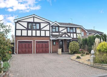 Thumbnail 5 bed detached house to rent in Heron Way, Derby, Derbyshire