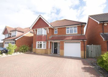 Thumbnail 4 bed detached house for sale in Megson Drive, Lee On The Solent