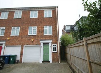 Thumbnail 4 bed end terrace house to rent in Ashburnham Close, East Finchley