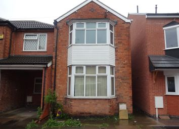 Thumbnail 3 bed detached house for sale in Nansen Road, Off Ethel Road, Leicester