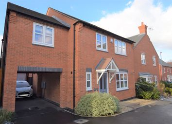 Thumbnail 4 bed detached house for sale in Athens Close, Hinckley