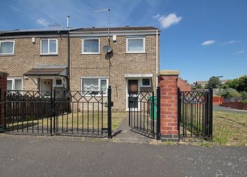 Thumbnail 3 bed end terrace house for sale in Whitworth Rise, Nottingham