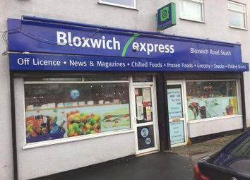 Thumbnail Retail premises for sale in 10-12 Bloxwich Road South, Willenhall