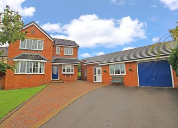 Thumbnail 4 bed detached house for sale in Kendall Close, Blackburn