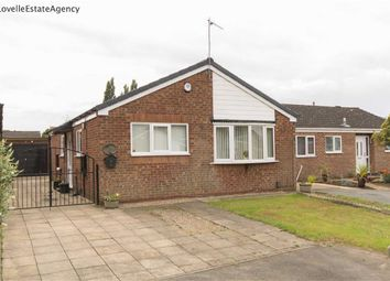 Thumbnail 3 bed bungalow for sale in Blackthorn Close, Scunthorpe