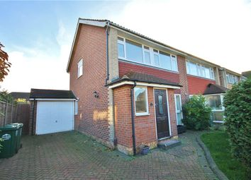 Thumbnail 3 bed semi-detached house for sale in Haslett Road, Shepperton, Middlesex